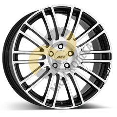 AEZ Strike 8x18 5x127  ET45 Dia71.6 Black Polished