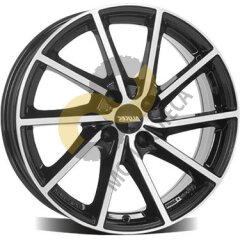 Alutec Singa 6x16 4x100  ET43 Dia57.1 Diamond Black Front Polished