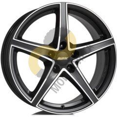 Alutec Raptr 7.5x18 5x112  ET52 Dia66.6 Racing Black Front Polished